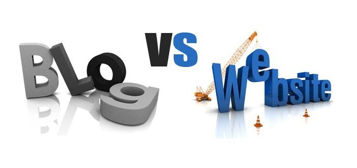 فرق بین وبلاگ و وب سایت چیست