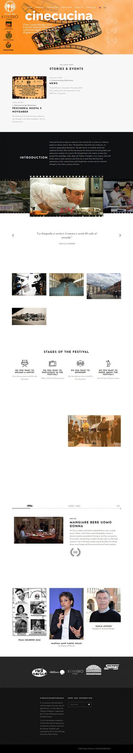طراحی سایت چینوکوچینا